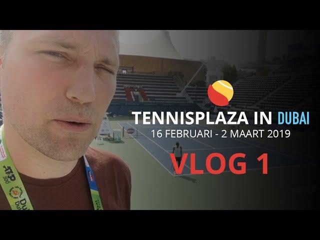 Tennisplaza in Dubai - Vlog 1: Christophe maakt kennis met de Dubai Duty Free Tennis Championships