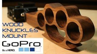Gopro wooden knuckles mount - Build It!