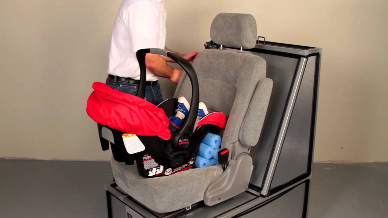 Britax Car Seat Us Britax B Safe Installing Without The Base Youtube