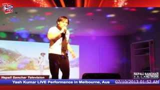 Yash Kumar live performance in Melbourne, Australia
