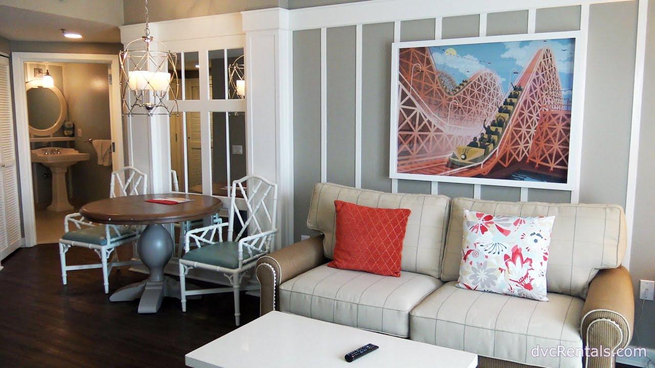 Boardwalk Resort Room Tours 1 Bedroom Refreshed
