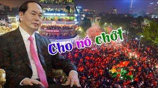 Tối nay người dân Hà Nội đi bão, mừng quốc tang CTN Trần Đại Quang