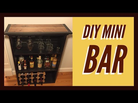 How To Build A Mini Bar DIY