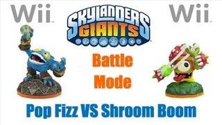 Skylanders Giants Wii - Battle Mode + Ring Out + Pop Fizz + Shroom Boom