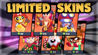 Buying the LIMITED Skins for the Brawlidays 🍊