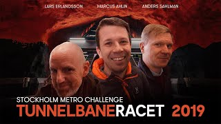Stockholm Metro Challenge - A race through the 100 stations (English subtitles)