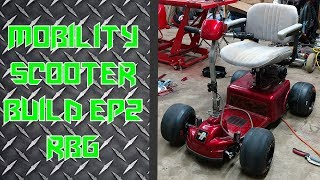 Gas Powered Mobility Scooter Build Ep2 - (Predator 212)