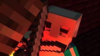 Minecraft HD приколы скелет исушитель