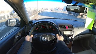 2007 honda accord POV test drive