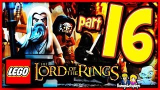 Lego the lord of the rings - Walkthrough Part 16 Battle of the Pelennor Fields