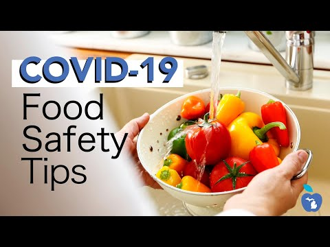 Food Safety and Grocery Shopping Tips during COVID-19