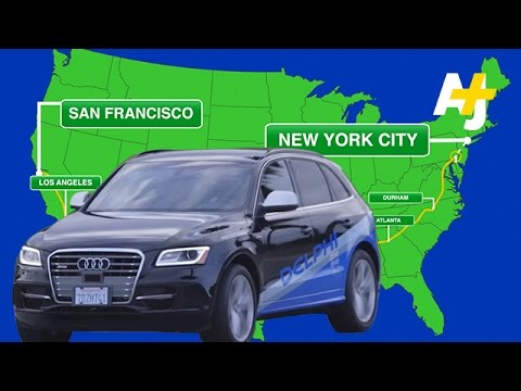 Car Drives Itself From San Francisco To New York City YouTube - Audi car that drives itself
