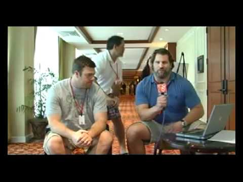 Eric Winston & Steve Hutchinson on UStream from NFLPA Board of Directors Meetings