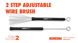 Rohema JB2 Brush | Jazzbesen