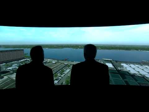 Flight Safety International shows the Manhattan databse update, I/ITSEC 2013