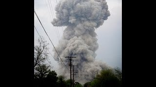 Videos Of Massive Explosion Of Fertilizer Plant In West Texas Near Waco