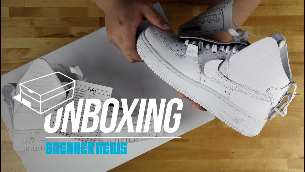 Unboxing The PSNY Nike Air Force 1 High