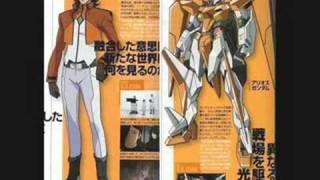 Gundam 00 Season 2 main characters and mechs