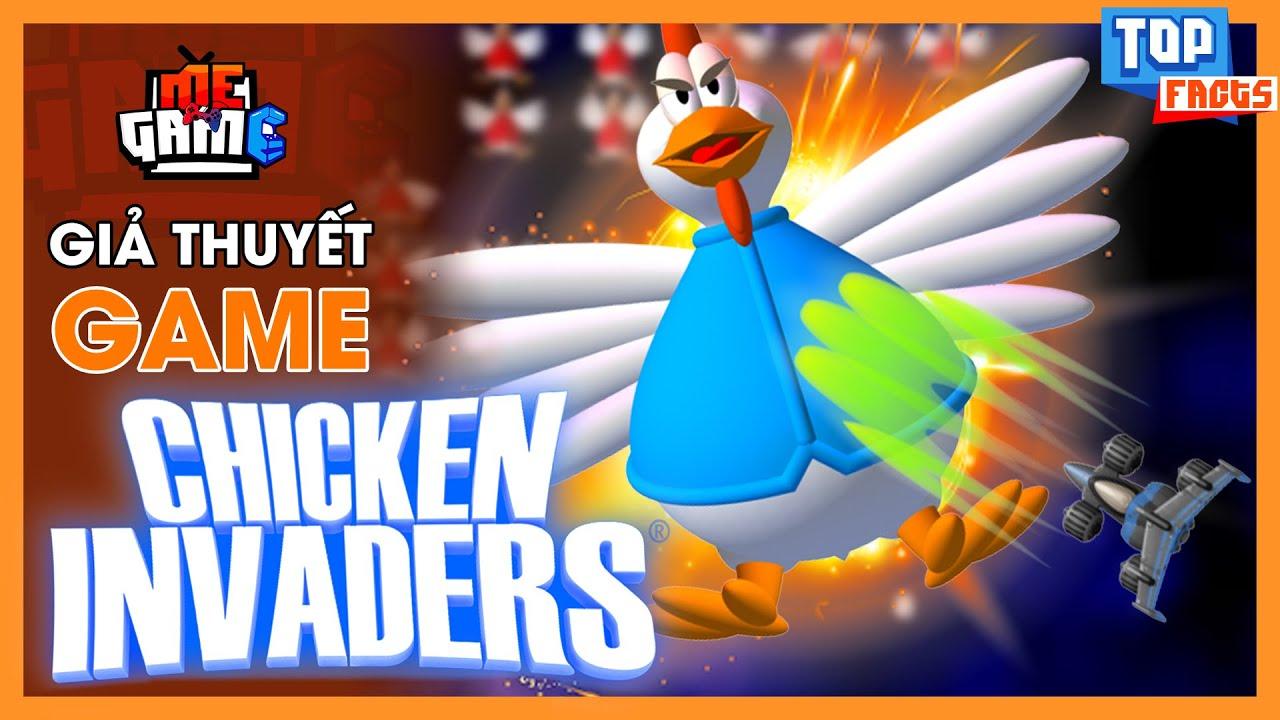 Giả Thuyết Game: Bắn Gà – Chicken Invaders | Sự Báo Thù Của Loài Gà – meGAME
