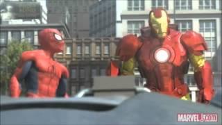 Short Film - Spiderman,Ironman and Hulk