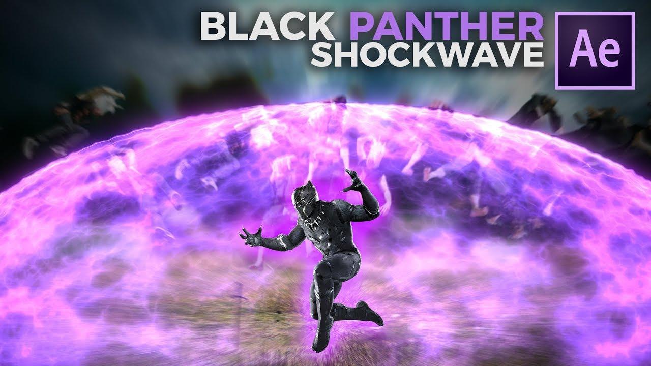 Black Panther SHOCKWAVE In AE