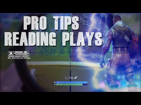 """HOW TO WIN #1 """"READING PLAYERS"""" BEST FORTNITE TIPS"""