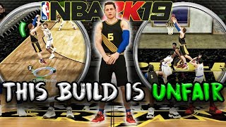 My New Build is UNFAIR! The Most Over Powered NBA 2K19 Build!