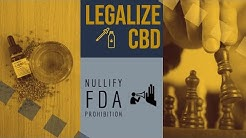 CBD Legal Status Update: FDA Holds First Hearing and Issues Warnings