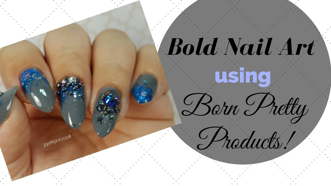 NEW Nail Design Using Born Pretty Products!! - YouTube