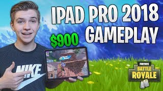 I spent $900 on the NEW iPad Pro 2018 to play Fortnite (THIS THING IS AMAZING)