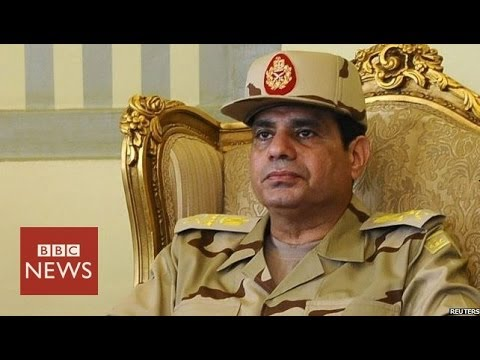 Abdul Fattah al-Sisi - in 60 seconds - BBC News