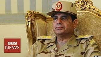 Abdul Fattah al-Sisi - in 60 seconds - BBC News