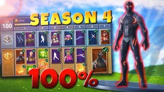 ALLE SEASON 4 ITEMS GEKAUFT! 😍 | Fortnite Battle Royale - (LEVEL100)