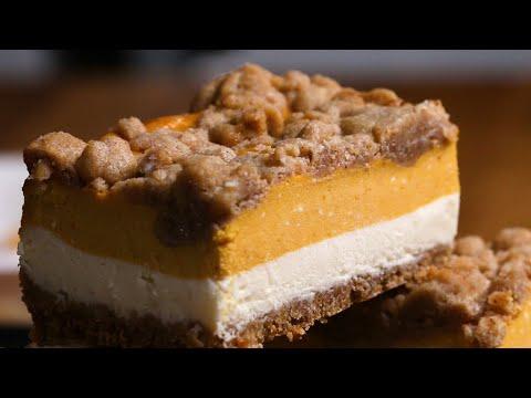 Nina Jackson - Thanksgiving: Pumpkin Cheesecake Bars
