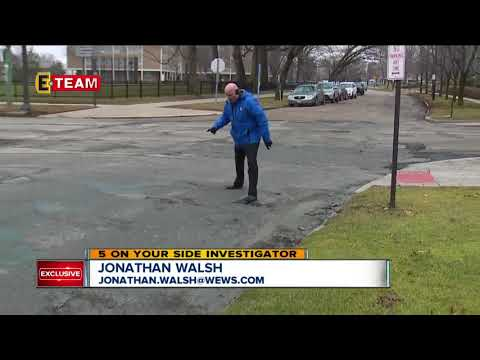 Problems with filling potholes in Cleveland