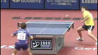 Feng Tianwei vs. Park Mi Young (expedite system)