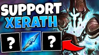 WHEN SUPPORT XERATH DEALS THE MOST DAMAGE (IN HIGH ELO) - League of Legends