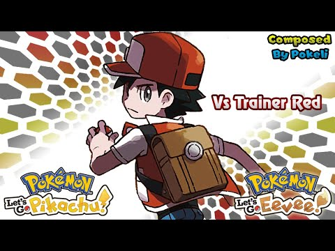 Pokemon Let's Go Pikachu & Eevee : Battle! Trainer Red (By Pokeli)
