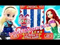 Disk Drop Game Play-Dough Love Monster Building! With LOL Surprise Dolls! | Princess World