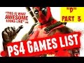 Showing All D PlayStation 4 Games Part 3 PS4 Video Games List