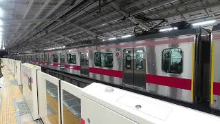東急5050系 4103F 自由が丘駅到着発車