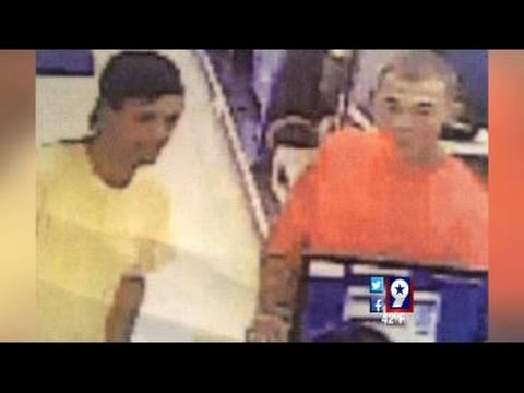 Caught on Camera: Thieves Steal Radar Detector from Cash America Pawn