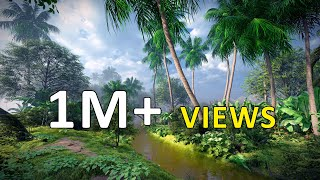 Lumion Cinematic animation | A Rainy day in Kerala | The Walk  #2 | Ajai Poovadan