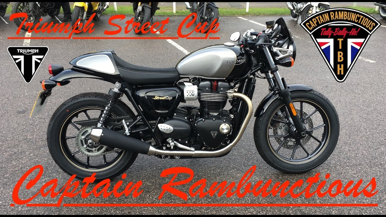 triumph street cup - 1st ride & review - youtube