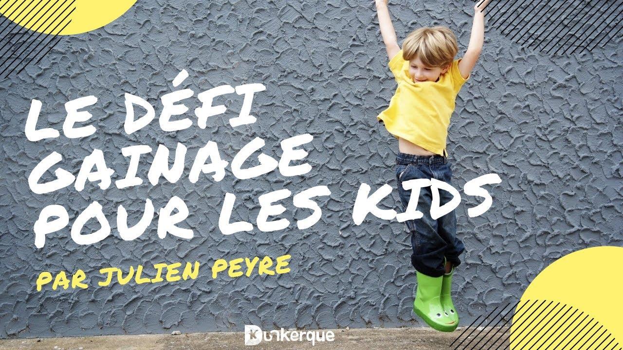 Download le Défi Gainage de Julien pour les enfants
