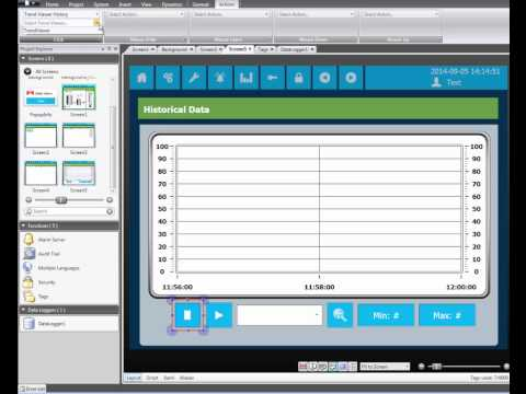 Configure trends and data logging in iX Developer, Video 6 by Beijer Electronics