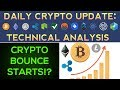 Crypto Bounce Begins!? Ready To Move Higher? (1/23/18) Daily Update + Technical Analysis