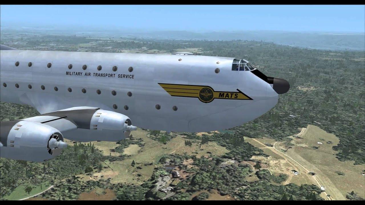 Short Flight - C124 Globemaster - FSX
