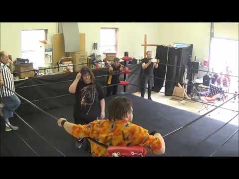Primal Origins: XHW Triple Threat Match (Dominating Backyard Wrestling)
