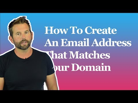 How To Create An Email Address That Matches Your Domain Name